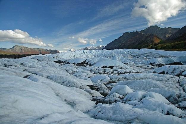 Hielo paisaje montaña alaska glaciar Foto gratis