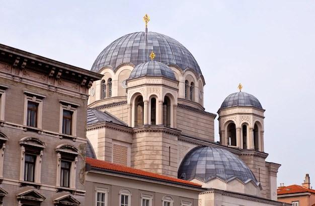 Iglesia ortodoxa de san spyridon, trieste | Foto Premium