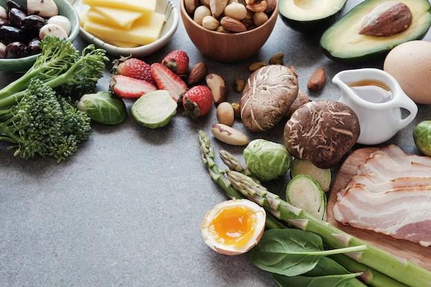 Keto dieta cetogénica baja en carbohidratos comida ...