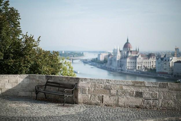 Panorama de budapest Foto gratis