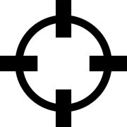 crosshair variant outline icons