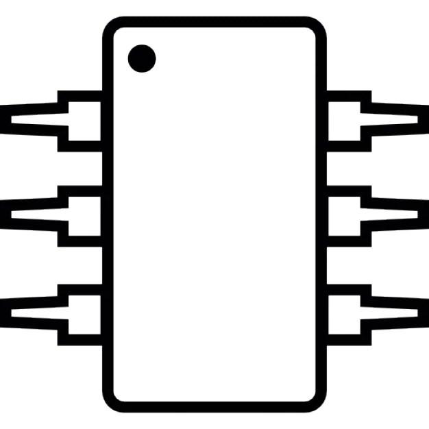 IC, integrated circuit, michrochip, IOS 7 symbol Icons