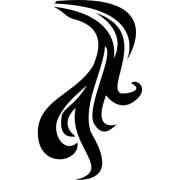 ponytail hair icons free