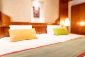 bedroom blur interior premium abstract