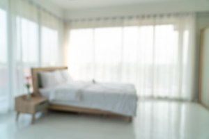 bedroom blur interior abstract premium