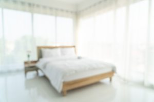 bedroom background blur premium abstract interior