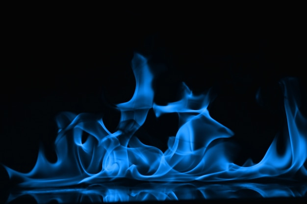 abstract fire flames isolated