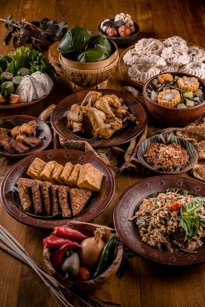 Premium Photo Asian Indonesia Traditional Foods