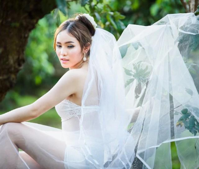 Asian Sexy Underwear Girl Lady Thai Wedding Style Premium Photo