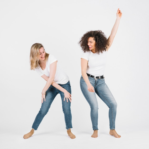 Attractive women dancing together | Free Picture on Freepik
