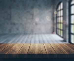 blur windows backgrounds background para freepik fondos difuminada foto 3d ventanas con wooden fotos photoshop aparment empty looking table into