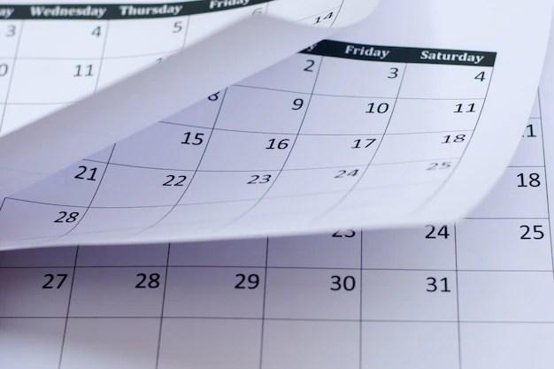 calendar page background photo
