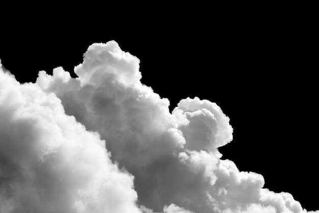 close up cumulus white