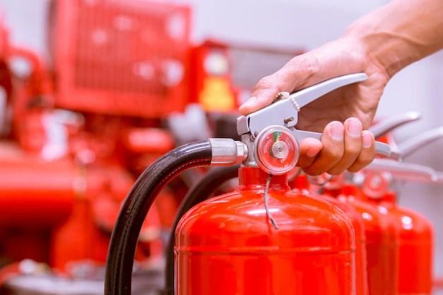 toolbox talks fire extinguishers