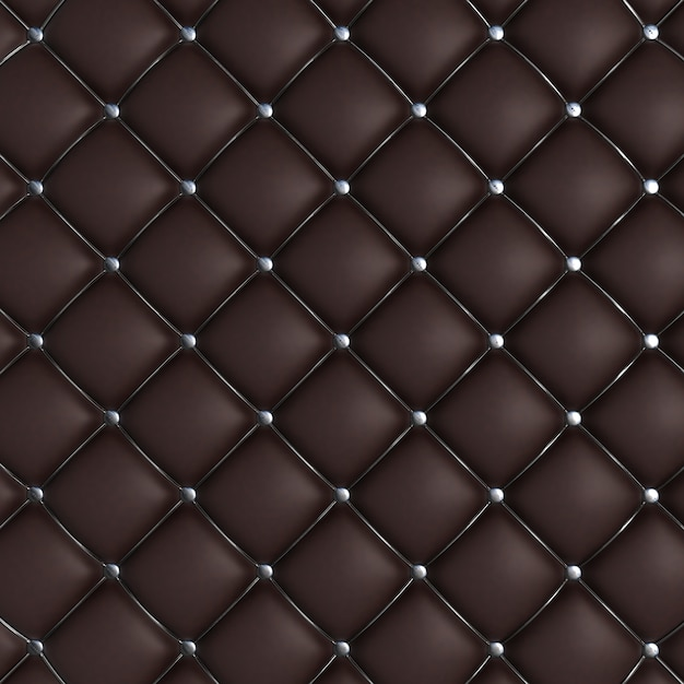 quilted leather sofa