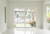 Empty door in living room interior background Photo | Free ...