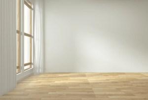 empty background interior floor wooden premium mock decoration