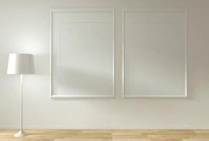empty interior premium mock decoration wooden floor background