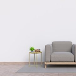 Wall Sofa High Quality Leather Brands Empty Living Room With White And In The Background Photo Demo 24