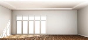 empty background interior door 3d premium freepik rendering