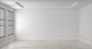 empty interior blank render blanco living pared blanca premium muur floor habitacion lege gratis window bakstenen vacia freepik