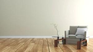 empty wall floor background interior 3d wooden rendering premium