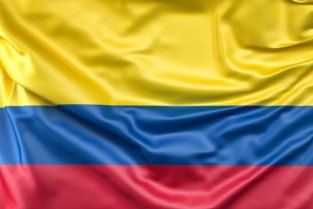 Flag of colombia Free Photo