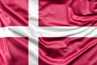 Flag of denmark Free Photo