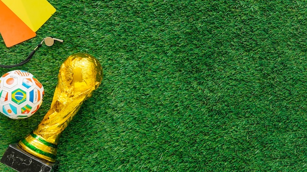 football background with copyspace