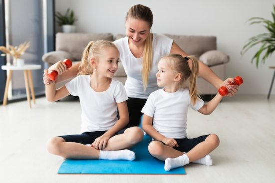 do yoga or aerobics
