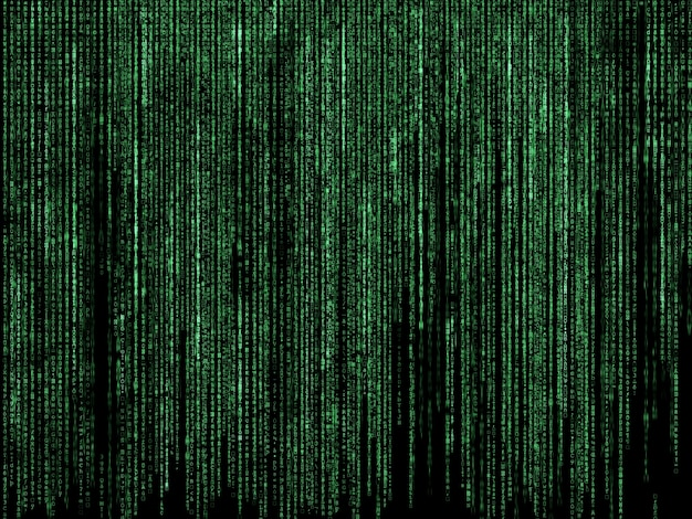 futuristic background with green