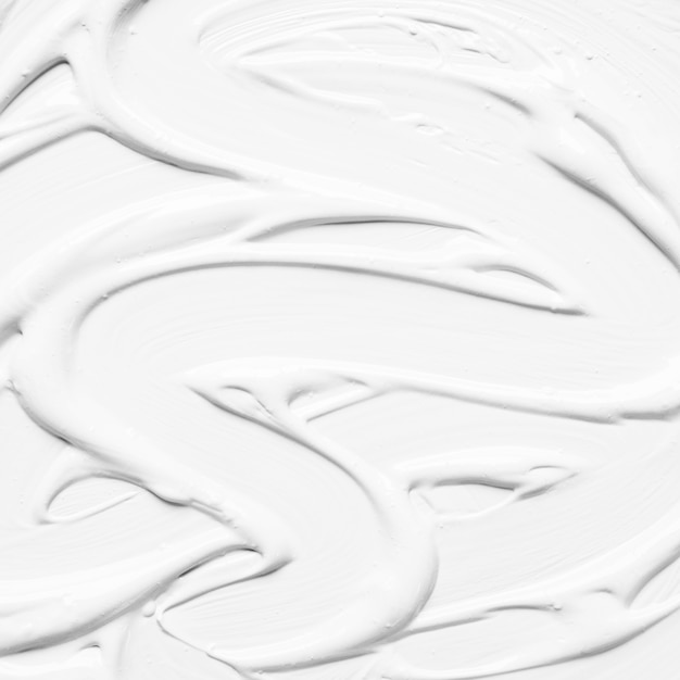 glossy white paint in