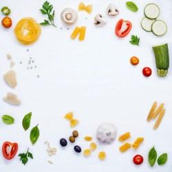 menu italian foods premium ingredients pasta concept copy