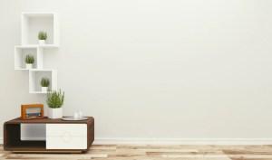 background living wall empty minimal interior 3d rendering premium freepik