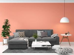 template living copy premium mock floor space interior