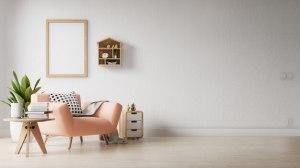 living poster empty muur premium interior pared een muro moderne dekorasi kamar salon woonkamer vuoto soggiorno moderno sul decoratie gratis