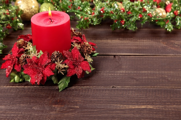 Christmas Candle Decoration Images
