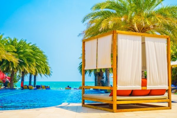 resort tropical beautiful landscape