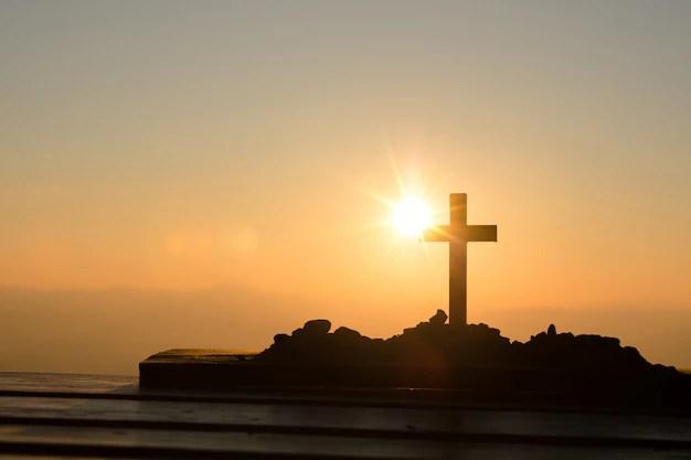 resurrection concept crucifixion of