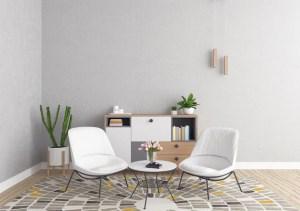 living background interior scandinavian frame mockup frames vertical modern freepik double premium wall mockups vectors psd plant creative