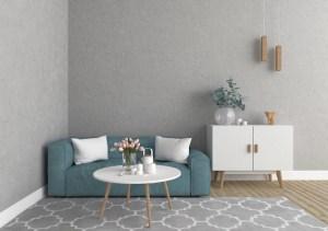blank living wall background premium mockup scandinavian artwork interior