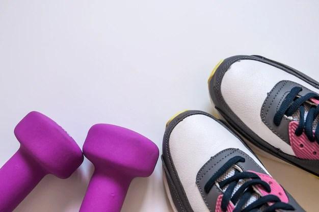 Transparent Background Gym Shoes