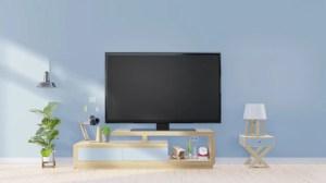 tv background empty modern wall screen premium lamp decoration plants cabinet cabinets living plywood yellow bangalore wardrobe interiors grade better