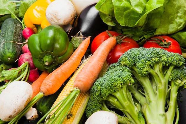 Various fresh vegetables Free Photo