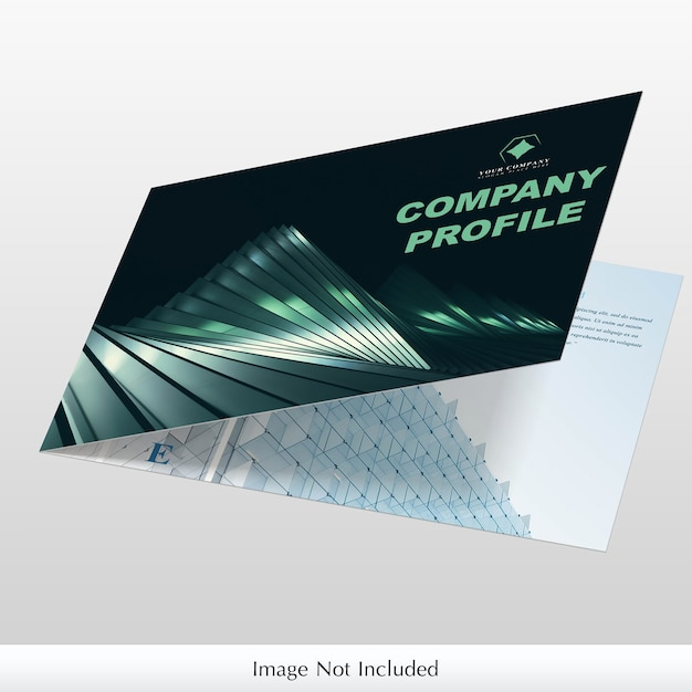 With a strategic approach, visionary ideas, inspired creative and flawless. Premium Psd Company Brochure Mockup