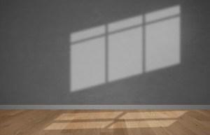 wall gray empty mockup background psd premium