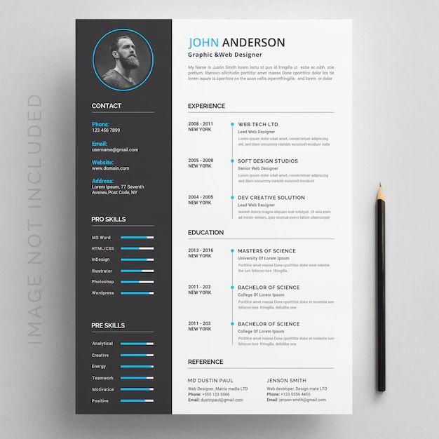 modern profile in resume