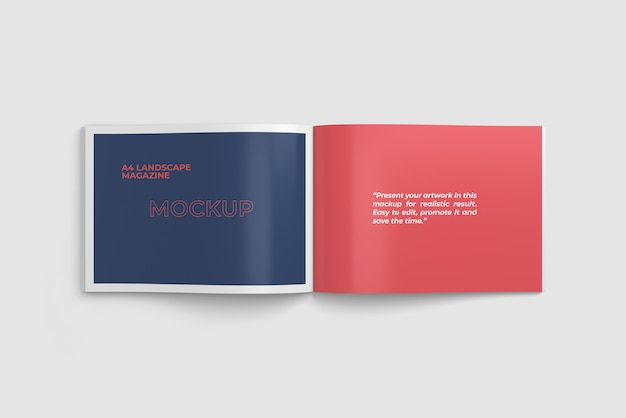 Free landscape book mockup to present your editorial project in a photorealistic look. Landscape Book Mockup Psd 300 High Quality Free Psd Templates For Download