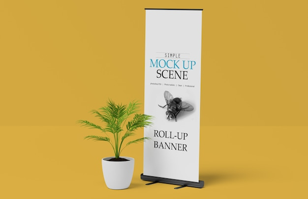 x banner or roll