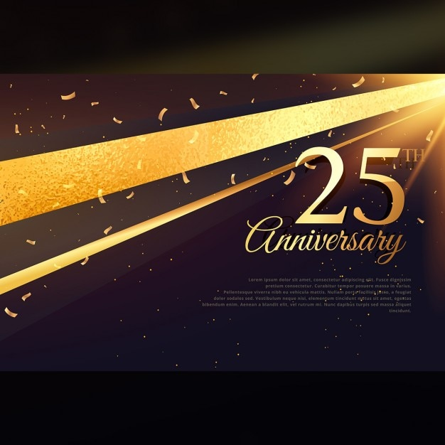 Black And Gold Awards Background